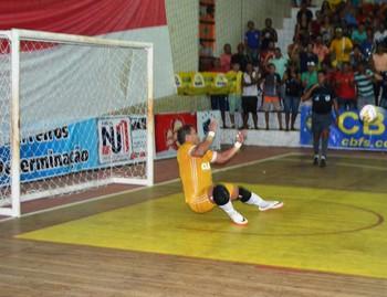 João Paulo, goleiro Big Bran (Foto: Adelcimar Carvalho)