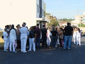 Greve Hospital Municipal Uberlândia (Foto: Reprodução/ TV Integração)