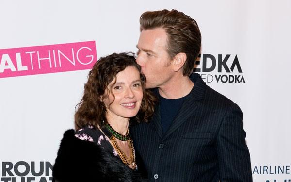 Ewan McGregor e sua esposa, Eve Mavrakis (Foto: Getty Images)