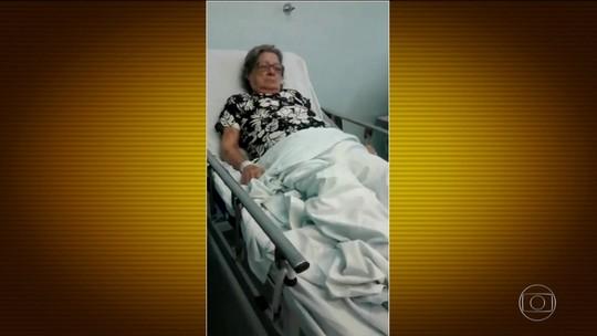 Hospital que recusou atendimento a idosa tem setor de UTI abandonado