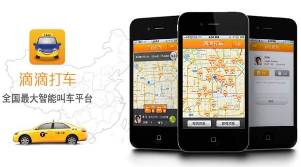 Aplicativo chinês para chamar táxi levanta US$ 700 milhões