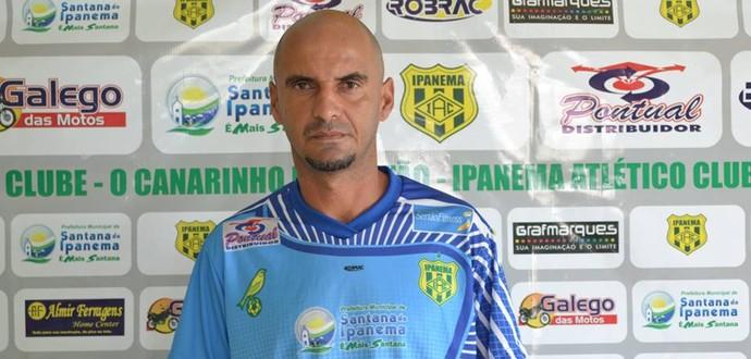 Adriano Cabeça, técnico do Sete de Setembro (Foto: Arquivo Pessoal/Adriano Cabeça)