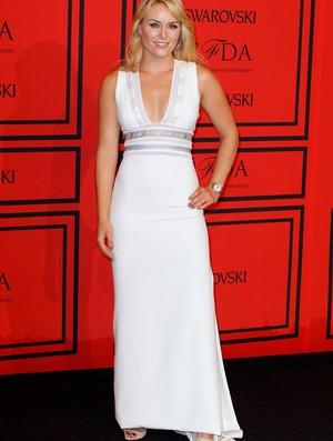lindsey vonn evento CFDA Fashion Awards (Foto: Agência Reuters)