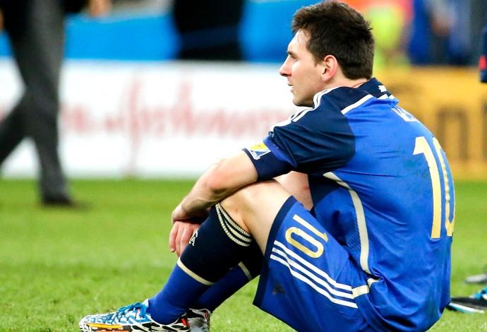 Messi derrota Argentina final (Foto: Reuters)