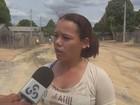 Moradores reclamam de asfaltamento 'pela metade' em rua de Rorainópolis
