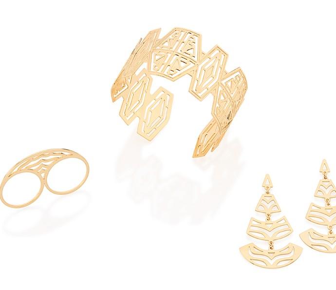 Cada peça passa por análise minuciosa após receber três camadas de Ouro  (Foto: Rommanel)