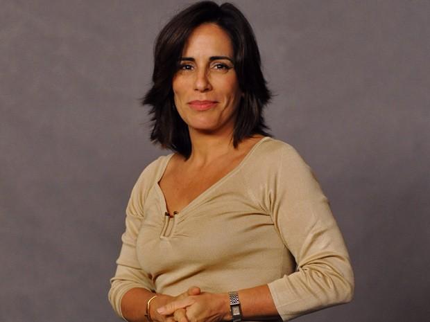 Gloria Pires é só felicidade em Guerra dos Sexos (Foto: Divulgação / TV Globo)