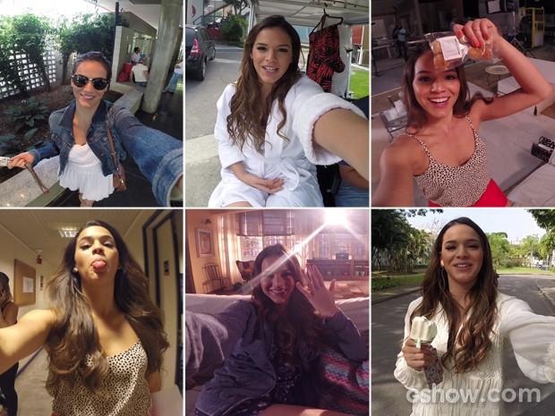 Bruna Marquezine revela tudo o que acontece nos bastidores do Projac (Foto: Bruna Marquezine/ TV Globo)