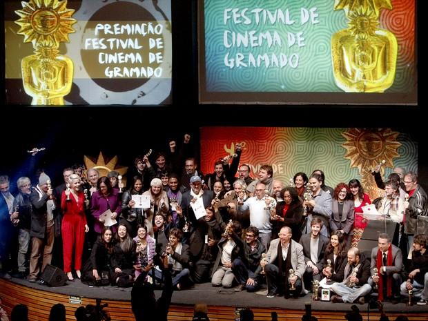 Vencedores Festival de Cinema de Gramado (Foto:  Itamar Aguiar/PressPhoto)