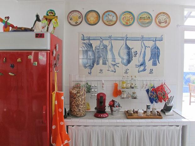 Na casa de Fafá de Belem (Foto: Casa Vogue)