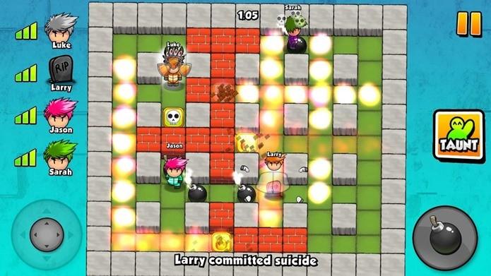 Modo multiplayer de Bomberman vive através do divertido Bomber Friends (Foto: Divulgação)