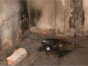 Local indicado por um dos menores onde teria acontecido explosão que matou adolescente (Foto: Paulo Souza/EPTV)