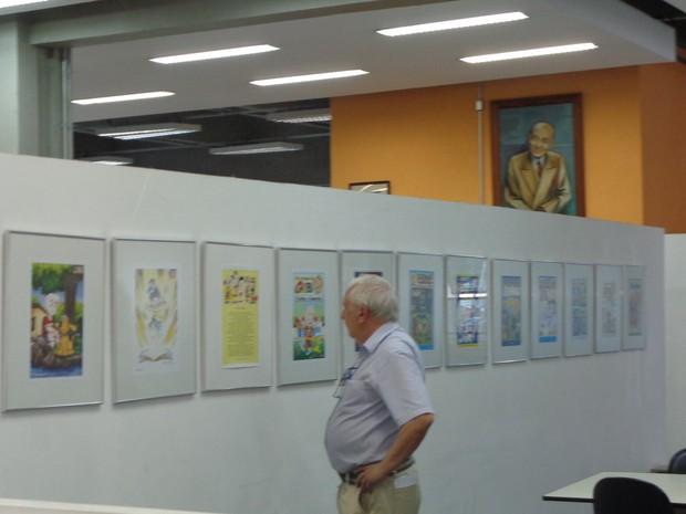 A exposição 40 anos da Turma da Gabi ocorre entre os dias 15 e 30 de setembro (Foto: Suze Elias)