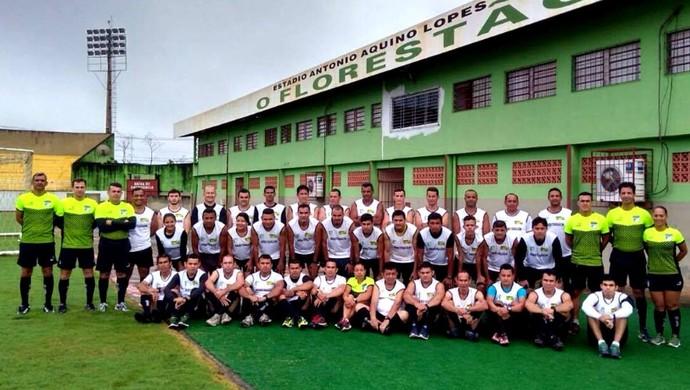 Sindicato dos Árbitros de Futebol  do Acre iniciam pré-temporada 2017 (Foto: Gilsomar Lopes/Arquivo Pessoal)