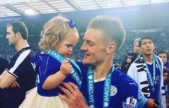 Leicester anuncia renovação com Jamie Vardy por mais quatro anos
