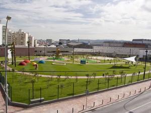 Área verde homenageia Turma da Mônica em Portugal (Foto: Divulgação/Câmara Municipal de Amadora)