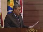 'Não cometi nenhum crime', diz Faria no 1º discurso na Câmara da capital