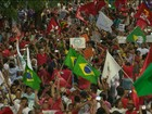 Cidades da PB têm protesto contra impeachment de Dilma nesta quinta