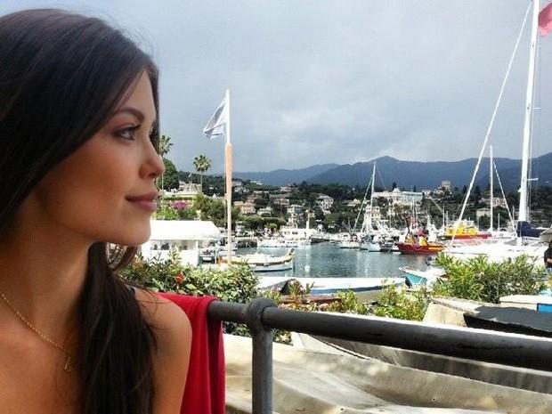 Vitória Strada passou quatro meses na Europa trabalhando como modelo (Foto: Arquivo Pessoal)