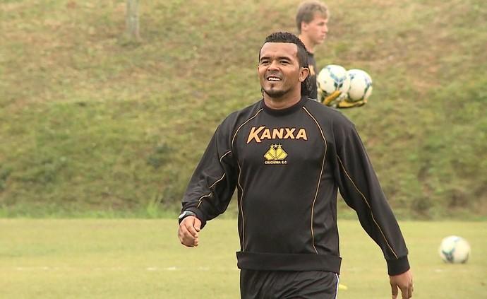 Zé Carlos Criciúma atacante (Foto: Reprodução / RBS TV)