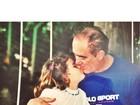 Renato Aragão recebe homenagem da filha Lívian por aniversário
