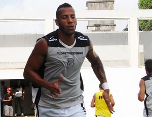 Tiago Chulapa, atacante do Treze (Foto: Richardson Gray / Globoesporte.com/pb)