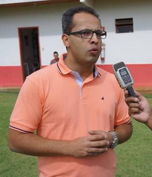 Ricardo Leão vai ser o técnico do Dragão no Módulo 2 do Mineiro. (Foto: Luiz Sandes)