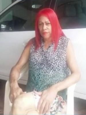 Idosa foi morta pelo neto que queria ficar com carro (Foto: Reprodução/ TV Morena)