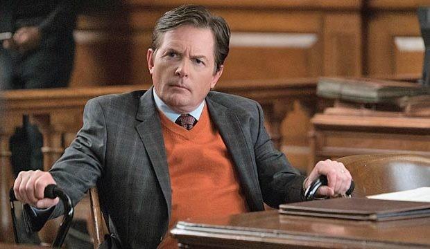 Michael J. Fox em cena de 'The good wife' (Foto: Reprodução)