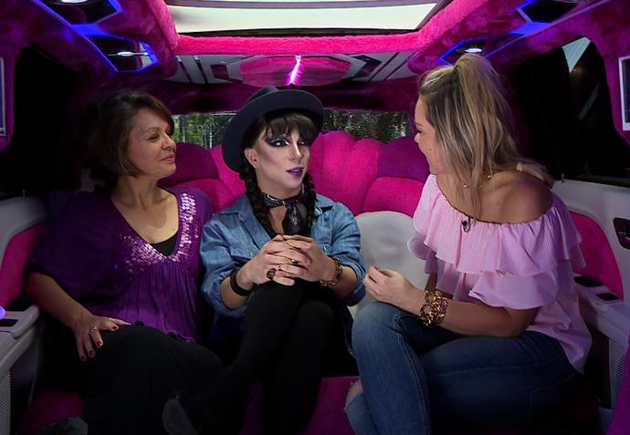 mistura com rodaika drag queen João (Foto: Reprodução RBS TV)