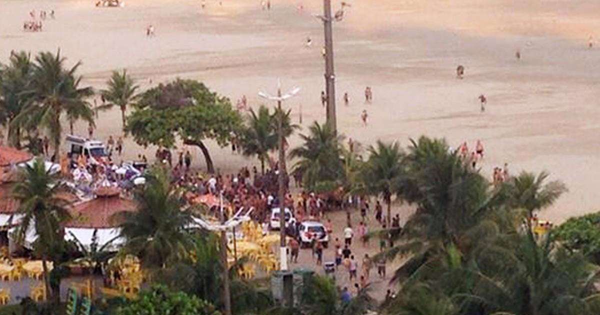 Policial civil envolvido em tiroteio com PMs na praia grava ação ... - Globo.com