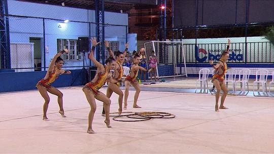 Conjunto de GR do Brasil faz treino-controle antes das primeiras competições