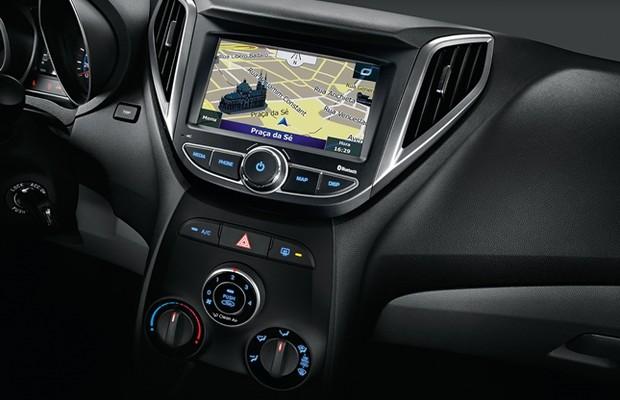 Hyundai HB20 ganha central multimídia (Foto: Divulgação)