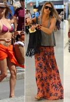 Fernanda Lima, a queridinha da Fifa, bate um bolão com looks estilosos
