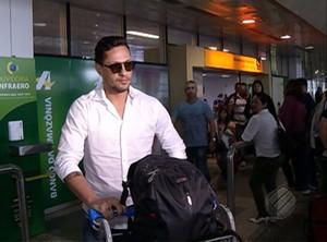 Eduardo Ramos, aeroporto de Belém (Foto: Reprodução/TV Liberal)