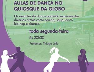 Aula dança Quiosque Globo Eu Atleta (Foto: Divulgação)
