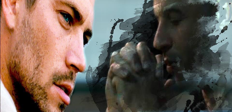 Montagem de Paul Walker e Vin Diesel (Foto: Facebook)