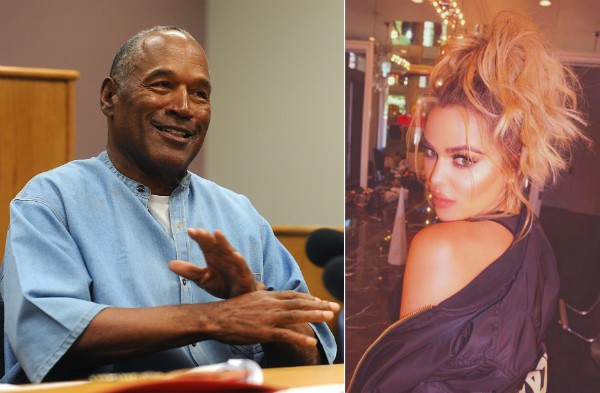 O.J. Simpson e Khloé Kardashian (Foto: Getty Images/Instagram)