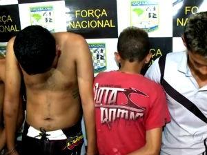 Operação prende suspeitos de crimes (Foto: Reprodução/TV Gazeta)