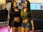Fotos: Confira os encontros de Fernanda D'avila com outras celebridades do mundo fitness