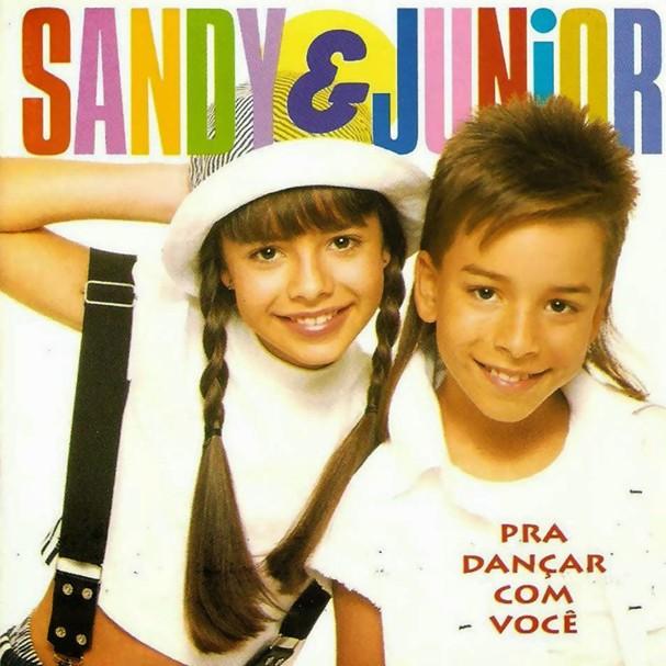 Pra Dançar Com Você, álbum da dupla Sandy & Junior, de 1994 (Foto: Reprodução)