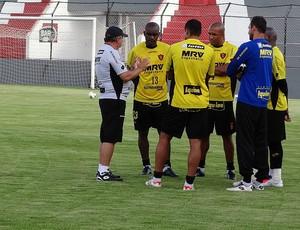 sport treino vadão (Foto: Elton de Castro / GloboEsporte.com)