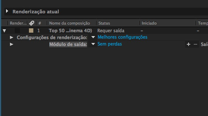 Como renderizar um vídeo para o formato MP4 no After Effects