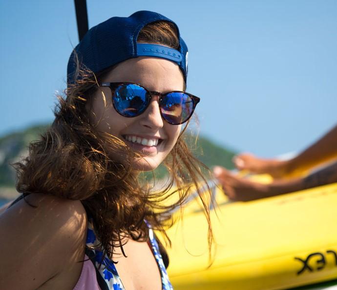 """Amanda de Godoi curtiu a tarde entre amigas: """"O dia está perfeito"""" (Foto: Fabiano Battaglin/Gshow)"""
