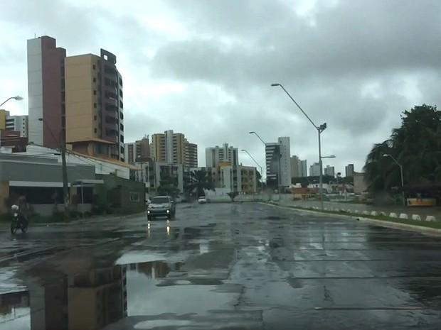 Zona de Convergência Intertropical possibilida chuvas no Maranhão (Foto: Maurício Araya/G1)