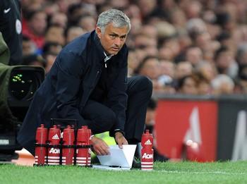 José Mourinho técnico Manchester United (Foto: EFE)