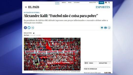 """""""Se o Kalil estivesse na Inglaterra, estaria tudo certo"""", diz Rodrigo Capelo"""
