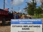 Deso interdita avenida para obra de esgotamento na Aruana em Aracaju