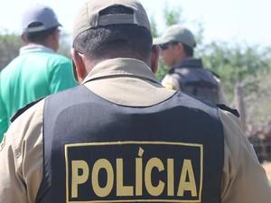 Polícia Militar prepara segurança para o Carnaval 2014 em Petrolina (Foto: Luana Bernardes/TV Grande Rio)