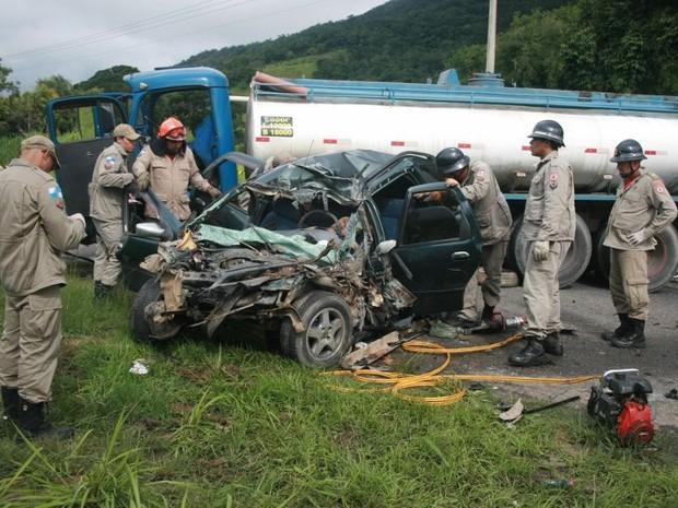 acidente em maricá (Foto: Romário Barros/Lei Seca Maricá)